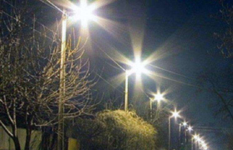 У Славуті відключили вуличне освітлення через борг