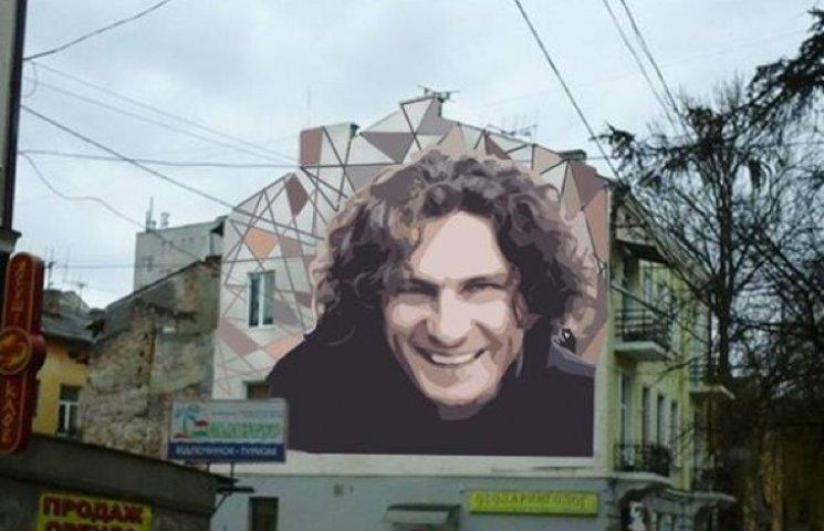 У Тернополі буде графіті з Андрієм Кузьменком
