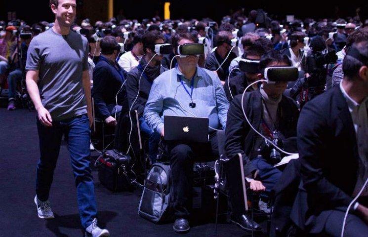 """Цукерберг готує революцію і реалізовує жахи """"Матриці"""""""