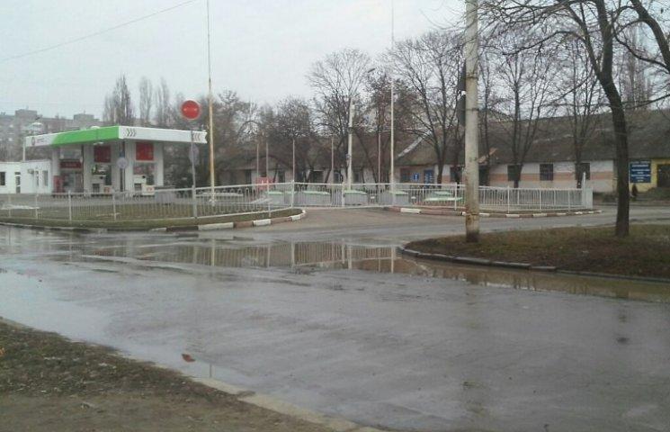 У центрі Миколаєва знову течуть ріки