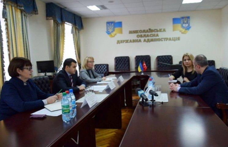 Турецькі партнери Миколаєва зацікавилися у розвитку туристичних зв