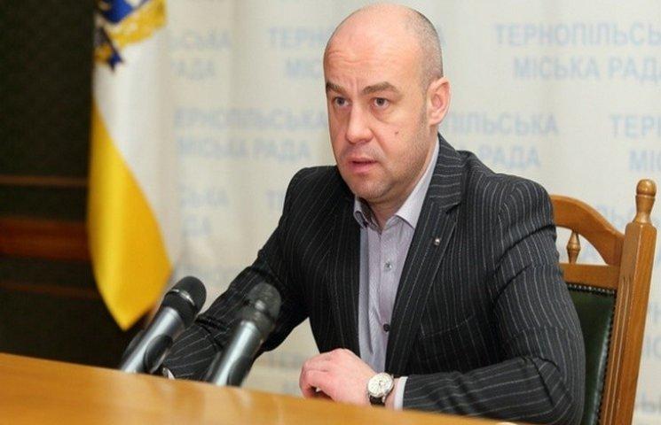 Мер Тернополя віздзвітував за 100 днів роботи