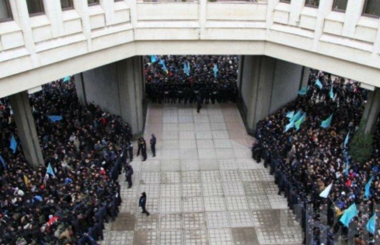 Хроніки окупації Криму: кривавий мітинг 26 лютого