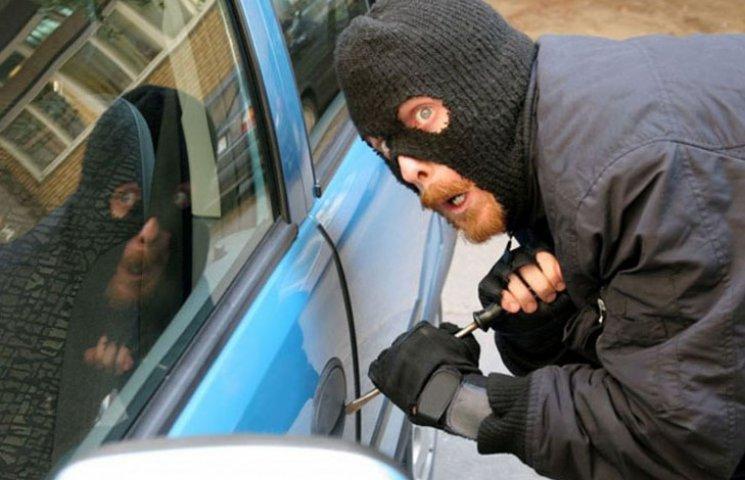 На Запоріжжі з початку року викрали 74 автомобіля