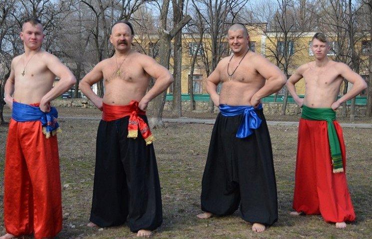 Як запорізькі козаки з зимової сплячки виходять
