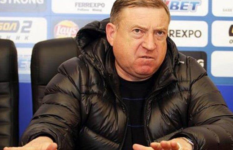 У Шуфрича будуть виганяти футболістів з команди за спілкування з пресою