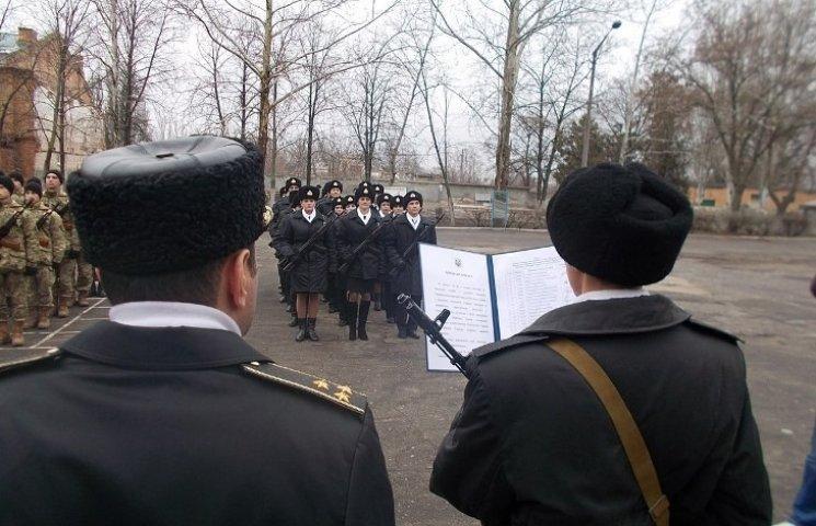У Миколаєві присягнули на вірність Україні курсанти ВМС