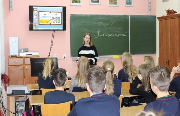 Хмельничанка з польської вищої школи здивувала молодь володінням мов