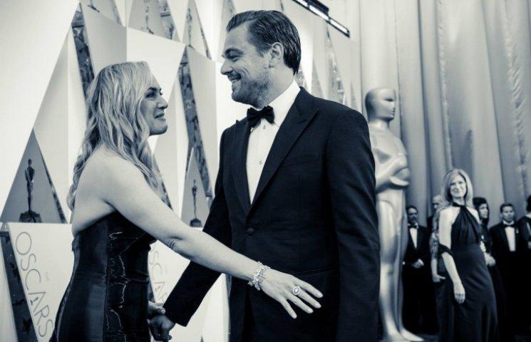 Оскар-2016: Кейт Уинслет расплакалась из-за победы Ди Каприо