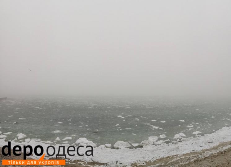 Неймовірне видовище: одеське море
