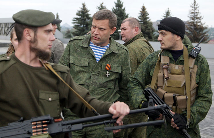 Структура гибридной армии луганских сепаратистов