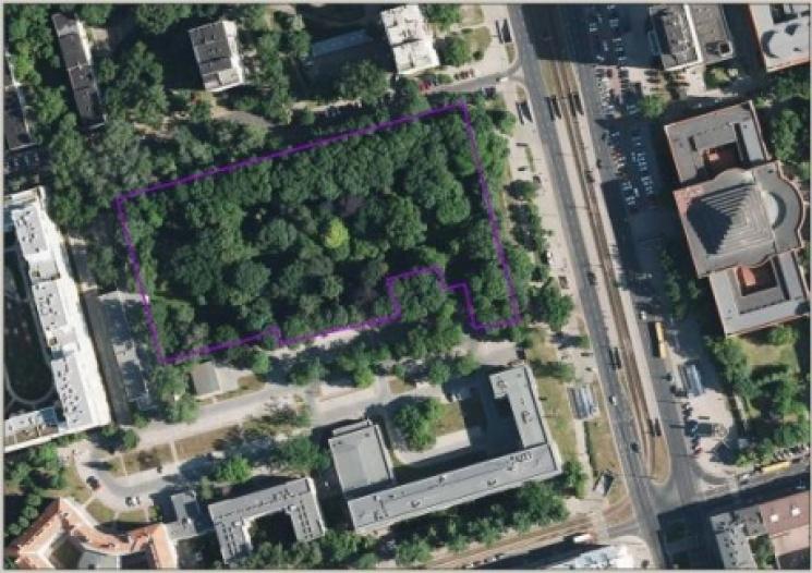 Имя украинского поэта Стуса присвоили скверу вцентре Варшавы