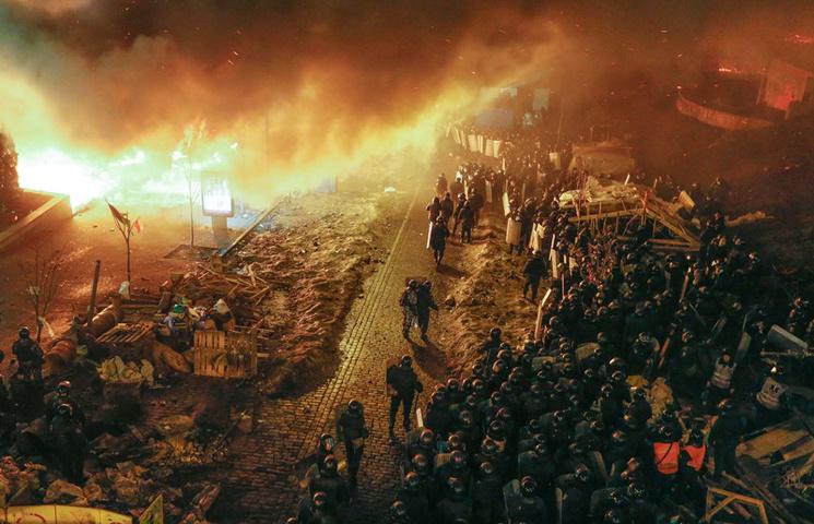 Хроніки Революції Гідності: Початок кривавої атаки на Євромайдан
