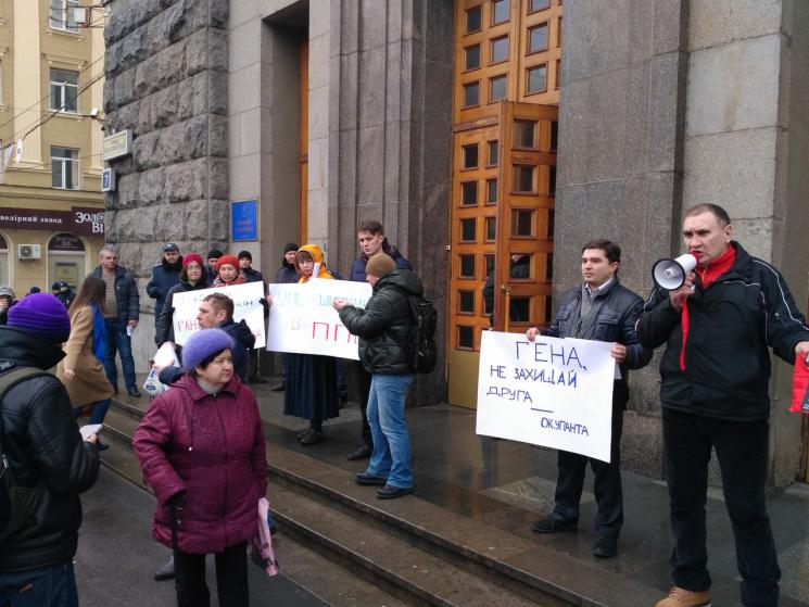 Харьковский горсовет отказался рассматривать лишение сенатораРФ Шишкина звания почетного гражданина