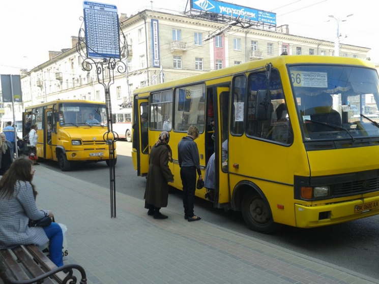 В Ровно будут пересчитывать пассажиров…