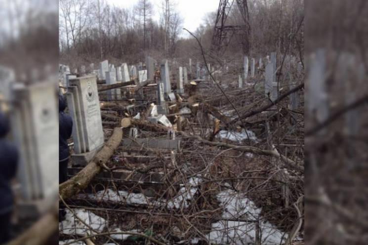 На Кубани осквернили кладбище (ФОТО)…