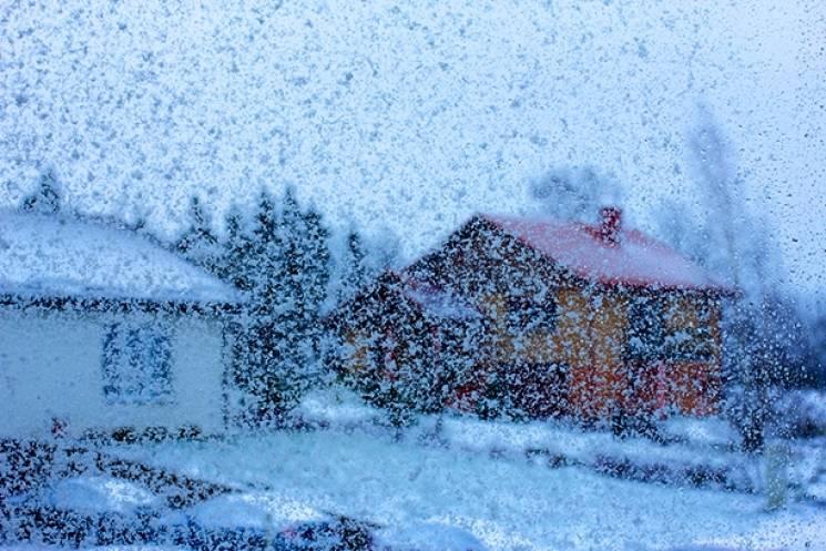 На Сумщині у вихідні очікується сильний снігопад