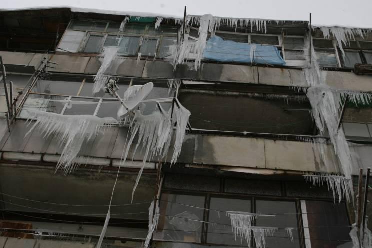 Бурульки атакували Львів (ФОТОРЕПОРТАЖ)