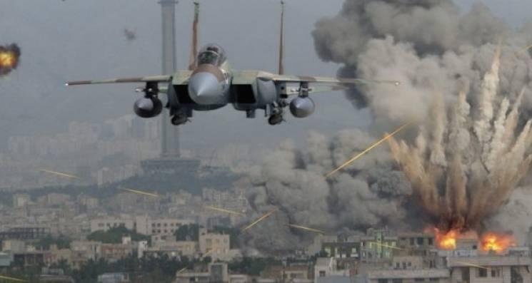 Ізраїльські F-16 атакували об'єкти вСирії, один літак збито