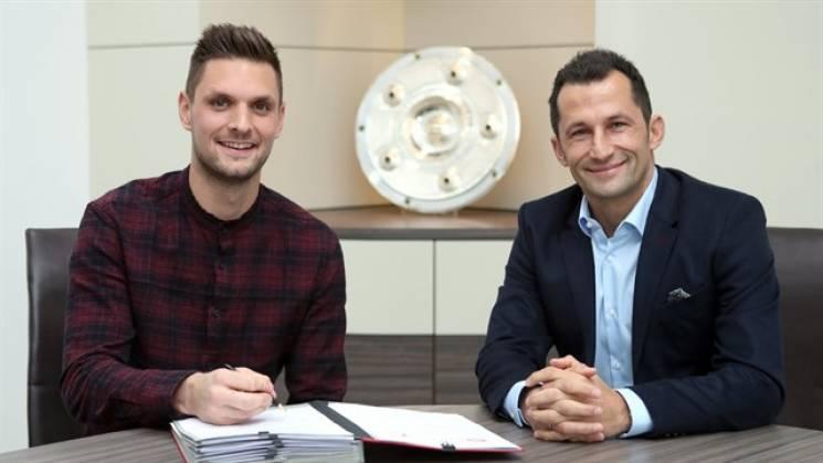«Бавария» продлила договор свратарем до 2021г.