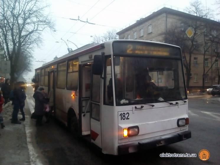 """На вулиці Тернополя виїхав чеський """"рогатий"""""""