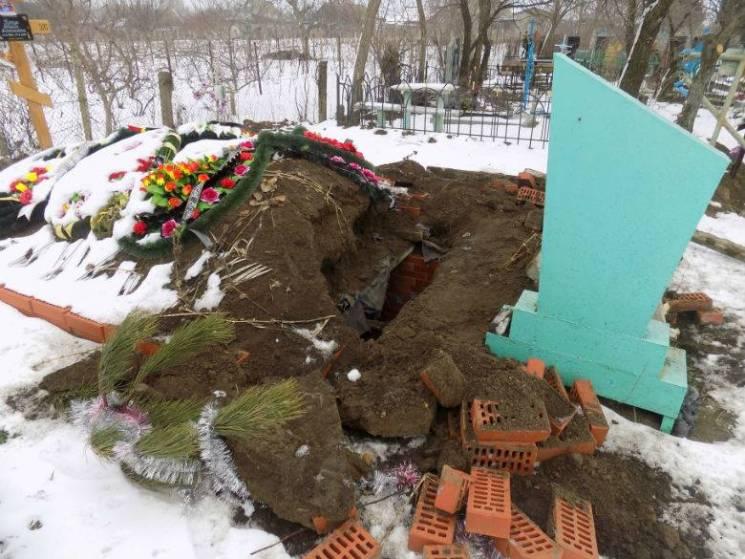На Одещині піймали розкрадача могил