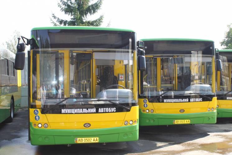 Вінничани просять ще один автобус на Старе місто