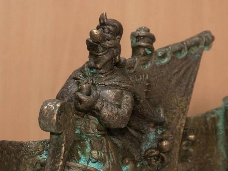 До кінця лютого Полтаву прикрасить нова скульптура від ужгородського майстра (ФОТО)