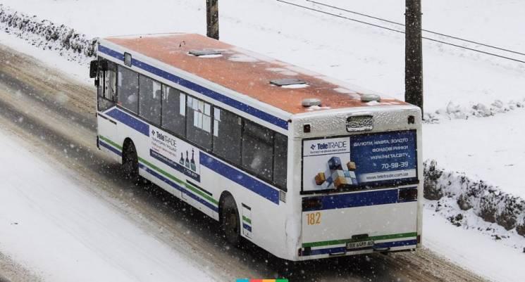 Відсьогодні у Хмельницькому змінили рух одного з автобусів