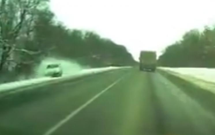 Авто під кермуванням п'яного водія злетіло з траси на Хмельниччині (ФОТО)