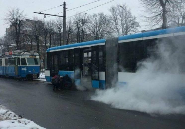 У Вінниці сталася халепа зі ще одним новим трамваєм