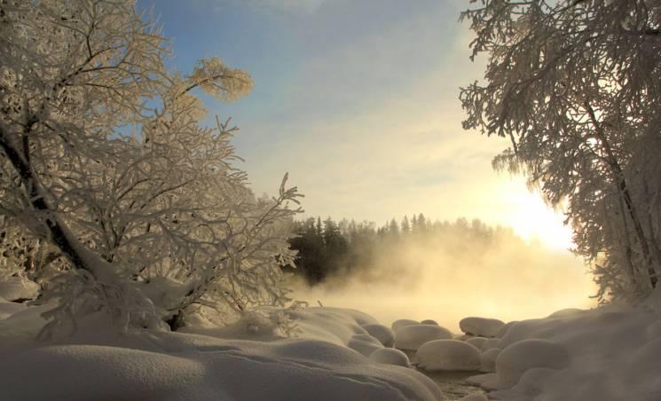 Сумчанам у День Валентина прогнозують сніг та мороз