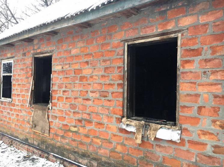 На Полтавщині під час пожежі у будинку загинув чоловік
