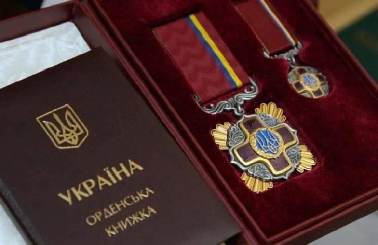 Порошенко нагородив житомирянина орденом