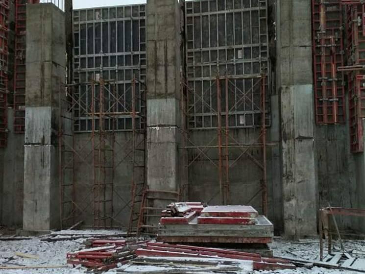 На Полтавщині повним ходом триває будівництво шляхопроводу у Бутенках (ФОТО)