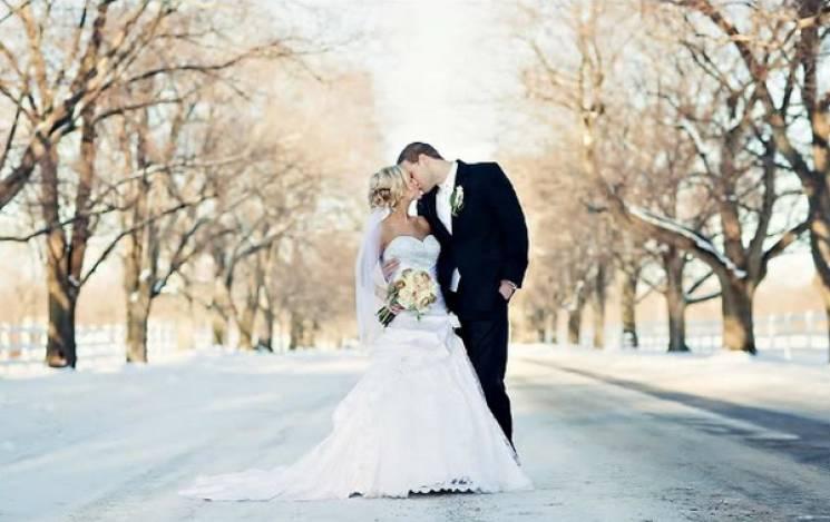 День закоханих: У Києві вже одружилися майже 200 пар
