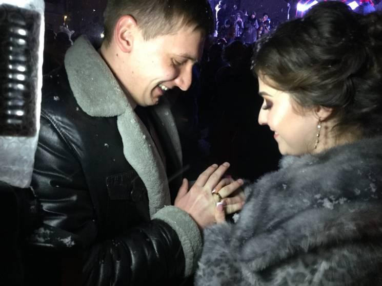 У Кам'янці в День закоханих відбувся справжній весільний бум (ФОТО)