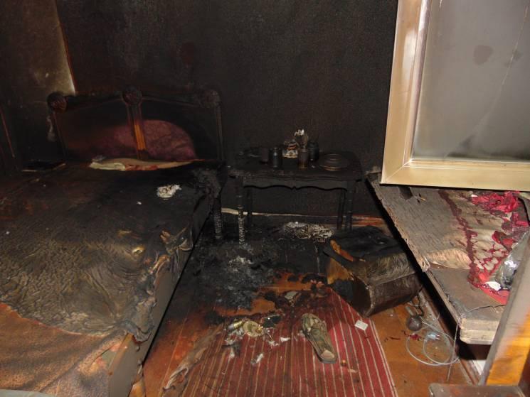 На Черкащині під час пожежі загинула жінка