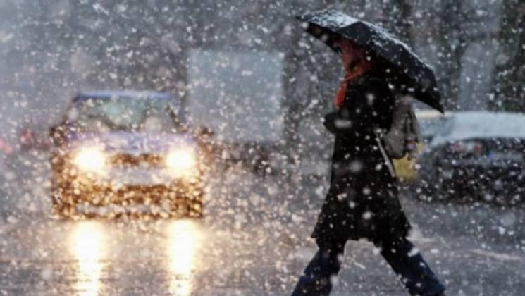 Сумчанам знову доведеться потерпіти мокрий сніг