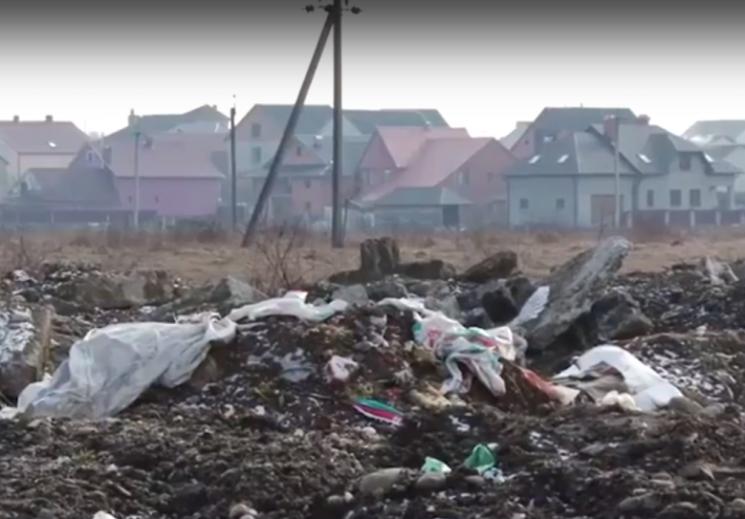 На Хустщині сміттєпереробний завод, якого ще нема, розсварив владу і громаду (ВІДЕО)