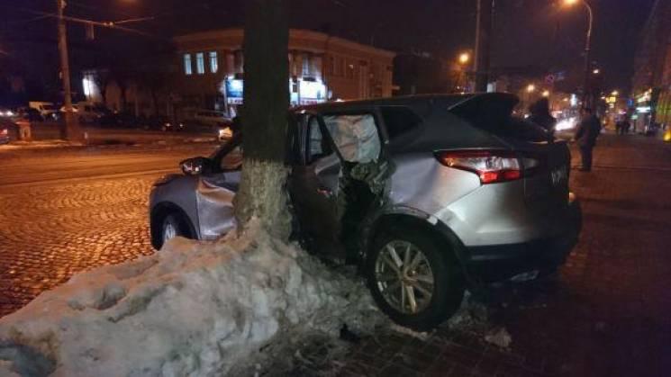 У Вінниці водій утік з місця аварії разом з пасажиром