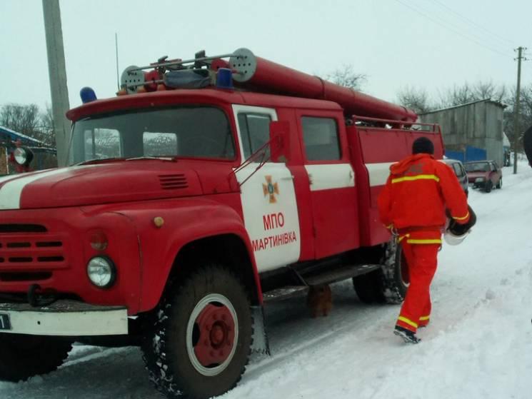 Вогнеборці Полтавщини врятували від знищення житловий будинок