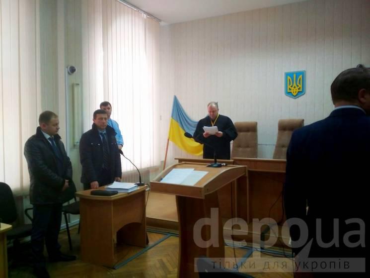 Затриманого на хабарі вінницького прокурора хотіла взяти на поруки нардеп Оксана Білозір