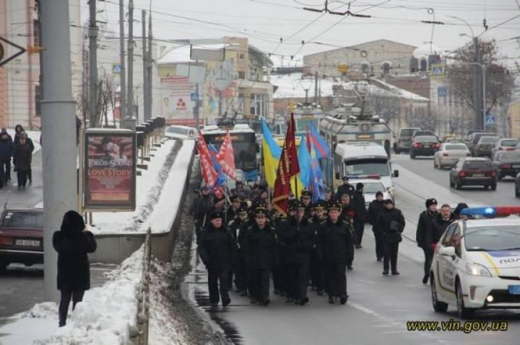 У Вінниці відбувся мітинг-реквієм в пам'ять про полеглих афганців (ФОТО)