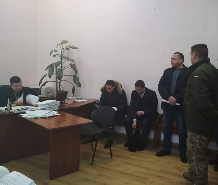 Вінницький суд посадив у СІЗО затриманого на хабарі начальника райвідділу поліції