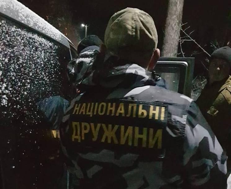 """На Прикарпатті лісова мафія купила селян та ветеранів АТО, – """"Нацдружини"""""""
