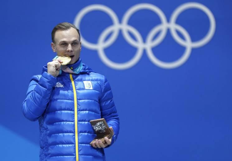 Як відбувалася церемонія нагородження українського олімпійського чемпіона Абраменка (ФОТО)