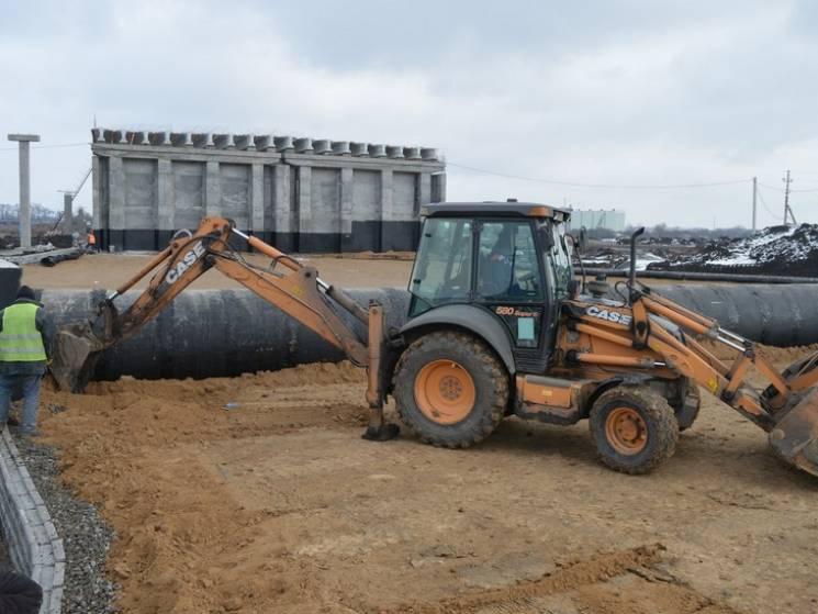 На Полтавщині будівництво нової розв'язки на трасі Дніпро-Решетилівка триває повним ходом (ФОТО), фото-1