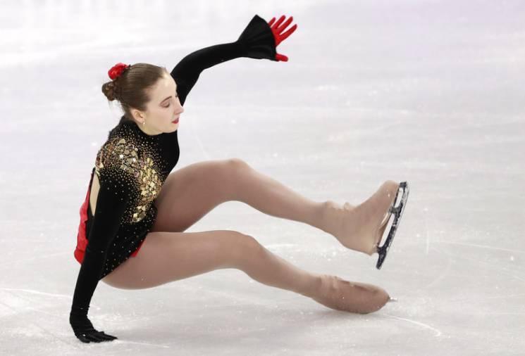 Як виглядає падіння української фігуристки на Олімпіаді (ФОТО)
