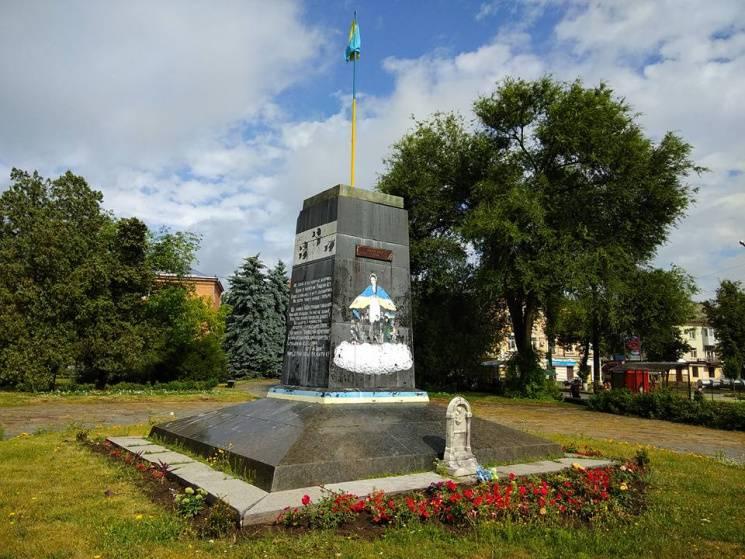 Демонтаж пам'ятника Леніну у Полтав…